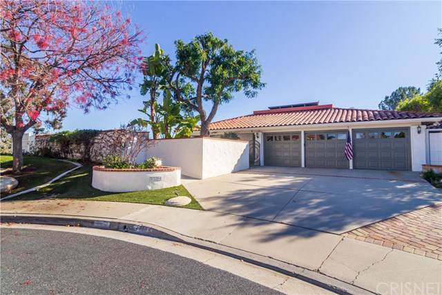23204 Park Esperanza, Calabasas, CA 91302 (#SR20010507) :: Allison James Estates and Homes