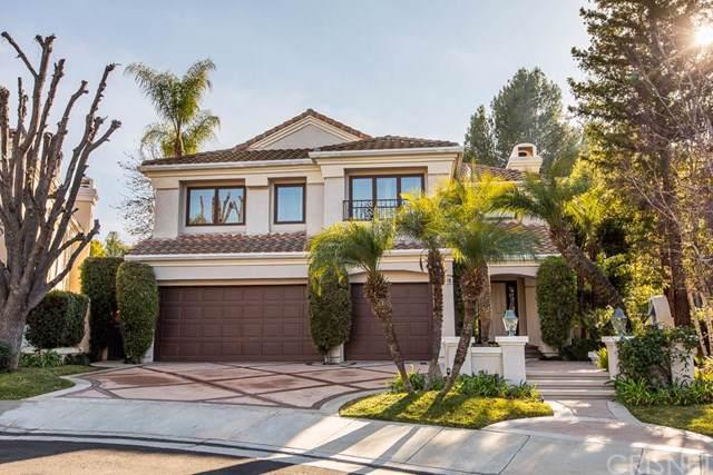 4353 Park Blu, Calabasas, CA 91302 (#SR20009750) :: Allison James Estates and Homes