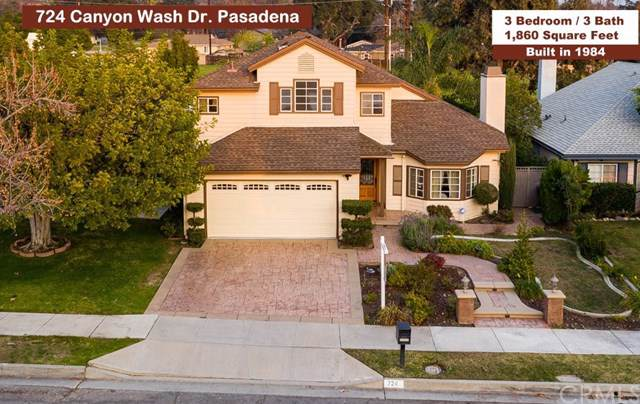 724 Canyon Wash Drive, Pasadena, CA 91107 (#PF20011643) :: Sperry Residential Group