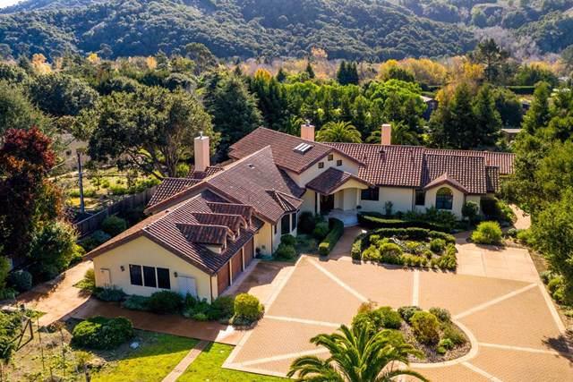 8710 Carmel Valley Road, Carmel Valley, CA 93923 (#ML81779374) :: Sperry Residential Group