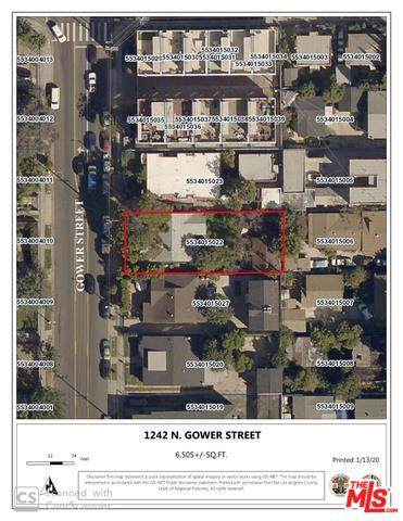 1242 N Gower Street, Los Angeles (City), CA 90038 (#20544816) :: Doherty Real Estate Group