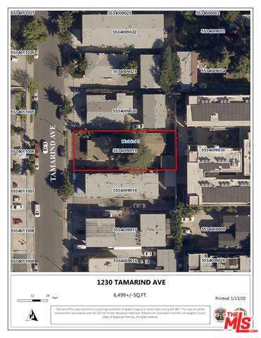 1230 Tamarind Avenue, Los Angeles (City), CA 90038 (#20544602) :: Doherty Real Estate Group