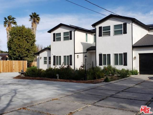 8556 Newcastle Avenue, Northridge, CA 91325 (#20545070) :: Cal American Realty