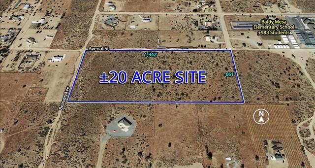 0 Avenal Road, Phelan, CA 92371 (#521180) :: That Brooke Chik Real Estate