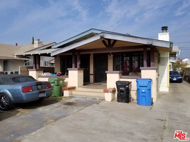 1109 W 53RD Street, Los Angeles (City), CA 90037 (#20545556) :: The Miller Group