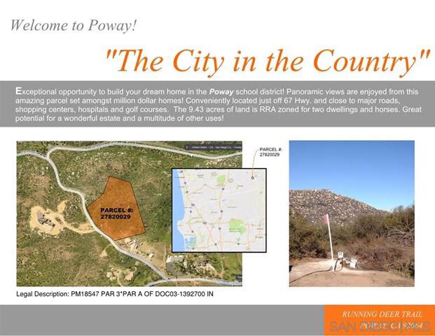 0 Running Deer Trl, Poway, CA 92064 (#200003205) :: Hart Coastal Group
