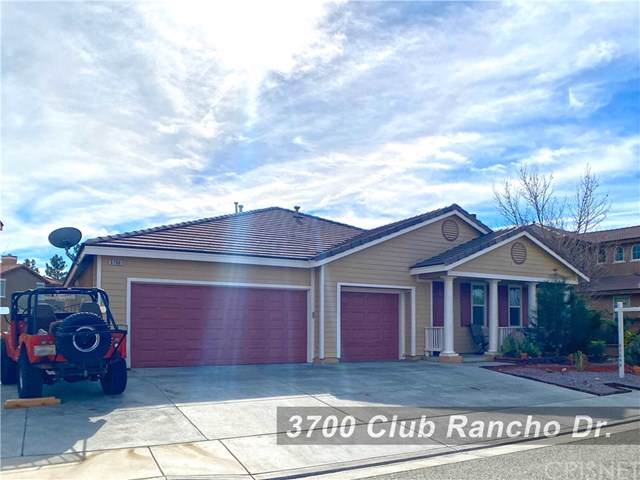 3700 Club Rancho Drive, Palmdale, CA 93551 (#SR20013356) :: Sperry Residential Group