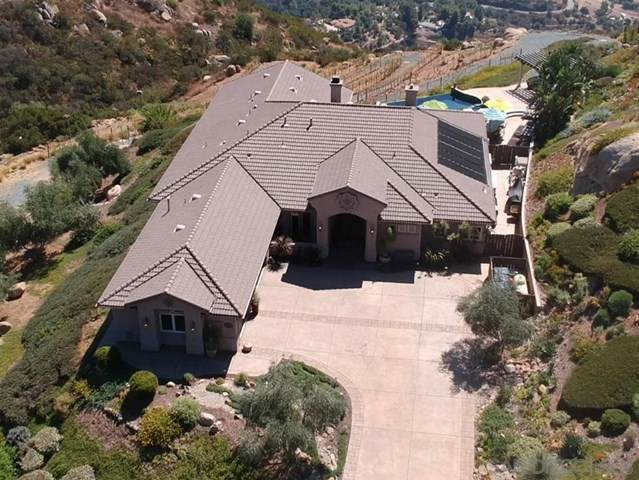 555 Bear View Way, Alpine, CA 91901 (#200003241) :: The Najar Group
