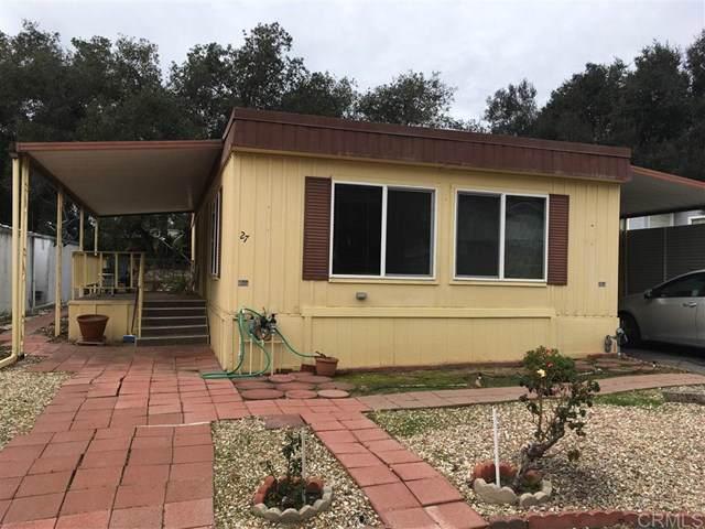 4747 Oak Crest Rd #27, Fallbrook, CA 92028 (#200003291) :: Twiss Realty