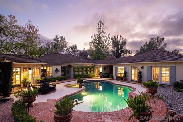 16506 Los Morros, Rancho Santa Fe, CA 92067 (#200003318) :: eXp Realty of California Inc.