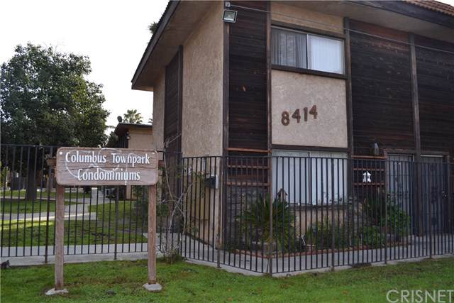 8414 Columbus Avenue #10, North Hills, CA 91343 (#SR20012759) :: Doherty Real Estate Group