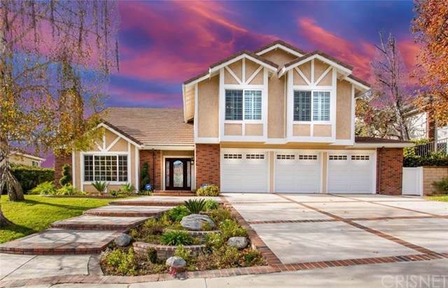 5841 Middle Crest Drive, Agoura Hills, CA 91301 (#SR19262514) :: Sperry Residential Group