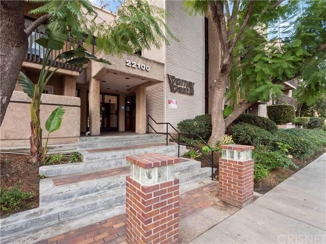 22100 Burbank Boulevard 167G, Woodland Hills, CA 91367 (#SR20014616) :: The Najar Group