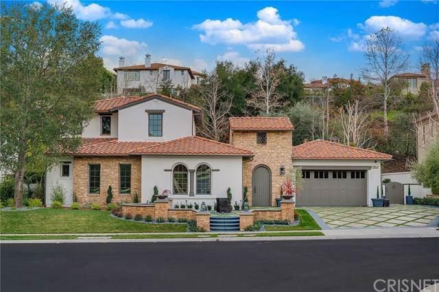 25510 Prado De Las Bellotas, Calabasas, CA 91302 (#SR20015220) :: Allison James Estates and Homes
