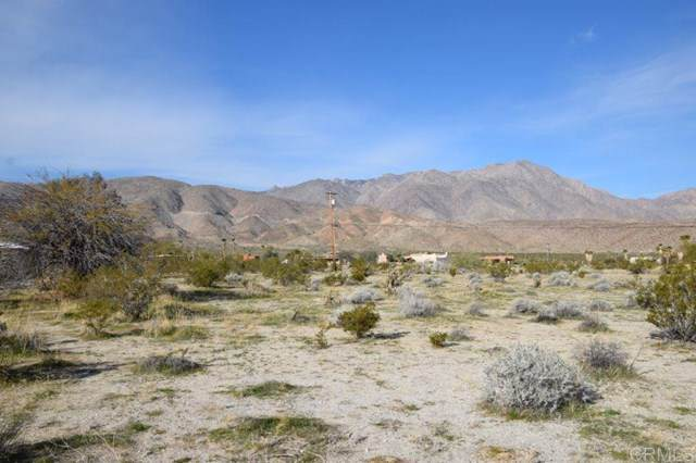 Wagon Road, Borrego Springs, CA 92004 (#200003624) :: Sperry Residential Group