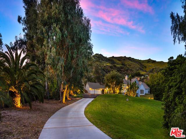 2069 Cold Canyon Road, Calabasas, CA 91302 (#20546756) :: Fred Sed Group
