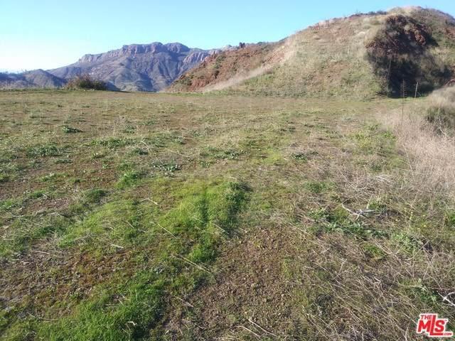 0 Stagecoach Road, Malibu, CA 90265 (#20546300) :: Allison James Estates and Homes