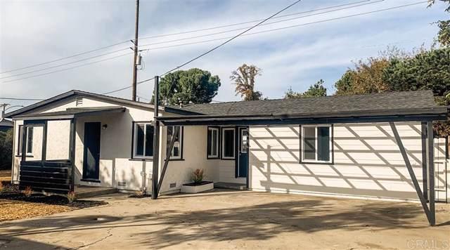 187 E E Washington Ave, El Cajon, CA 92020 (#200003706) :: The Bashe Team