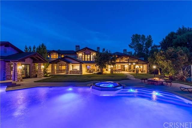 5824 Jed Smith Road, Hidden Hills, CA 91302 (#SR20015993) :: Allison James Estates and Homes