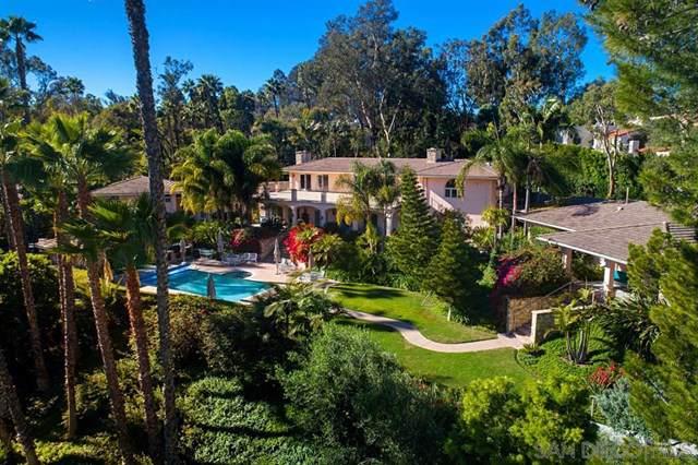 17474 El Vuelo, Rancho Santa Fe, CA 92067 (#200004027) :: eXp Realty of California Inc.