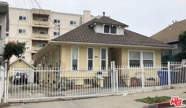 1046 Fedora Street, Los Angeles (City), CA 90006 (#20547540) :: Sperry Residential Group