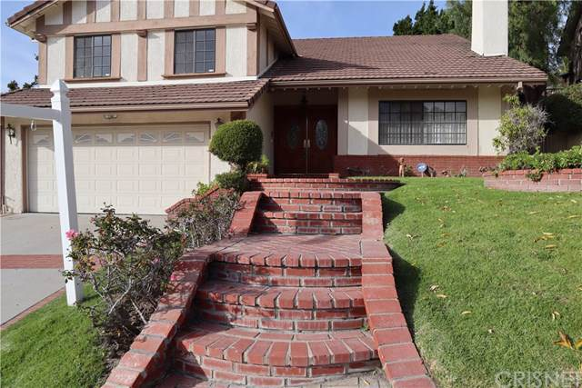 17407 Sunset Ridge Circle, Granada Hills, CA 91344 (#SR20017667) :: The Najar Group
