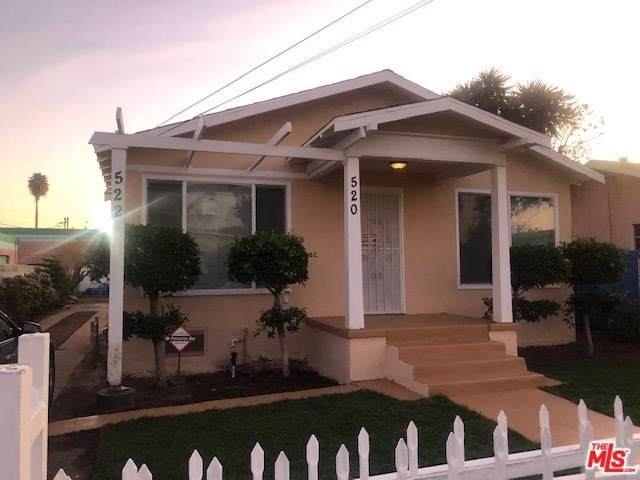 520 W 91ST Street, Los Angeles (City), CA 90044 (#20547656) :: Frank Kenny Real Estate Team