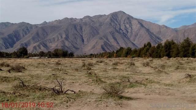 Borrego Valley Rd, Borrego Springs, CA 92004 (#200004260) :: Sperry Residential Group