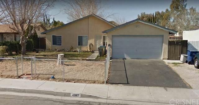 42827 38th Street W, Lancaster, CA 93536 (#SR20018286) :: Keller Williams   Angelique Koster