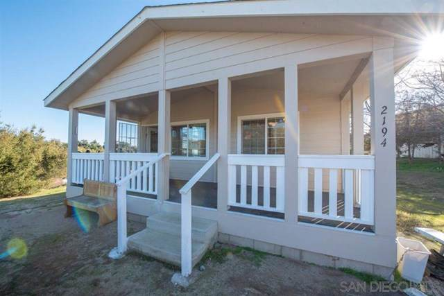 2194 Buckman Springs Rd, Campo, CA 91906 (#200004285) :: Twiss Realty