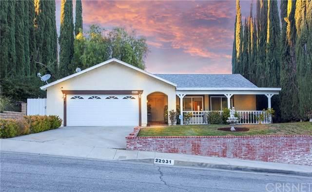 22931 Vista Delgado Drive, Valencia, CA 91354 (#SR20004231) :: Rogers Realty Group/Berkshire Hathaway HomeServices California Properties