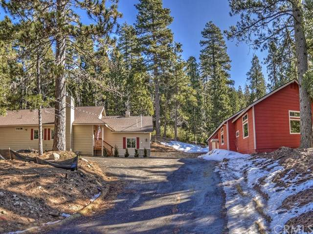411 Grass Valley Road, Lake Arrowhead, CA 92352 (#EV20018839) :: The Miller Group