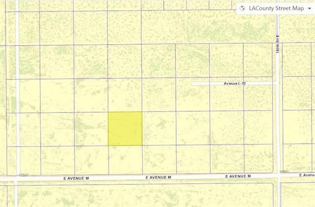 17700 Vac/177 Ste/Vic Avenue L15, Lancaster, CA 93535 (#SR20019774) :: RE/MAX Masters