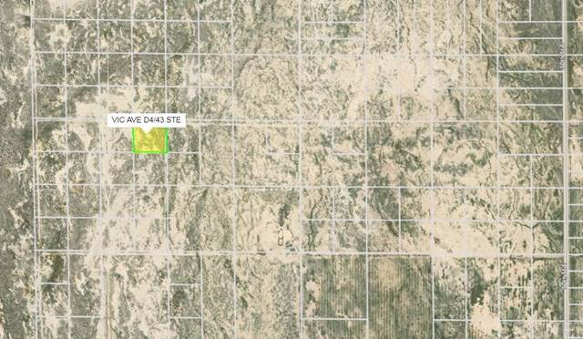 4300 Vac/Vic Avenue D4/43 Ste, Redman, CA 93535 (#SR20019855) :: The Brad Korb Real Estate Group
