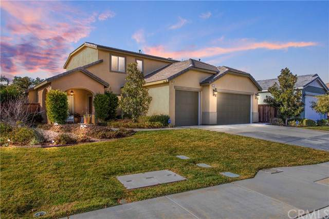 1289 Tulip Circle W, Beaumont, CA 92223 (#EV20020171) :: Rogers Realty Group/Berkshire Hathaway HomeServices California Properties