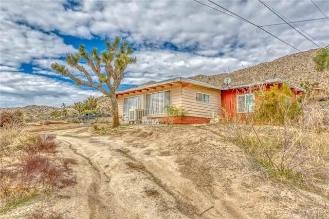 55992 Sunnyslope Drive, Yucca Valley, CA 92284 (#JT20020078) :: Allison James Estates and Homes