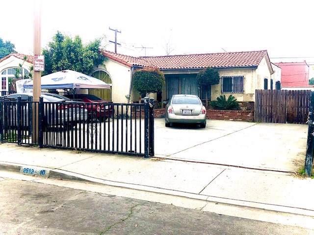 2510 Hope Street, Huntington Park, CA 90255 (#SR20020383) :: Crudo & Associates