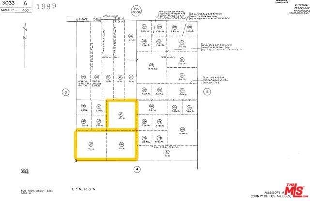 0 E 218 St. E And Ave. S-8 - 3 Parcels, Llano, CA 93591 (#20550830) :: The Brad Korb Real Estate Group