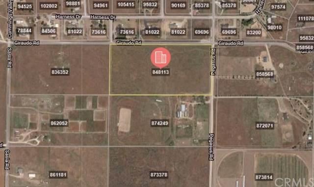 0 Giraudo Road, Tehachapi, CA  (#TR20007232) :: RE/MAX Empire Properties