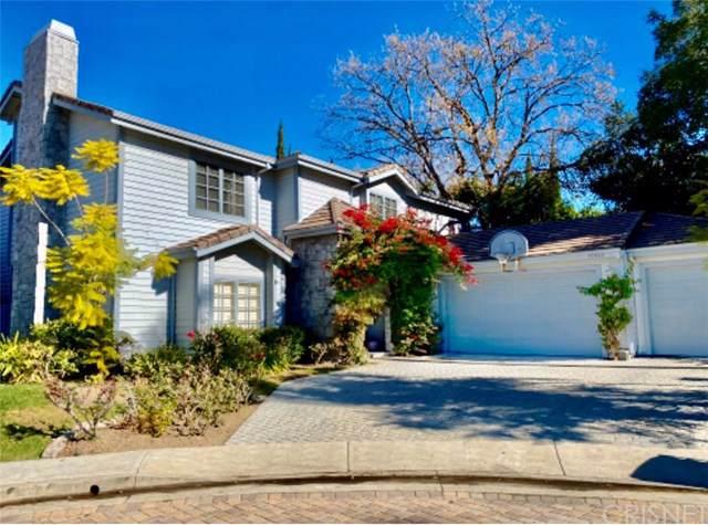 17645 Royce Drive W, Encino, CA 91316 (#SR19271352) :: Berkshire Hathaway HomeServices California Properties