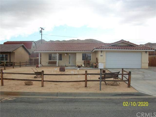 60249 Chesapeake Drive, Joshua Tree, CA 92252 (#JT20030975) :: Legacy 15 Real Estate Brokers