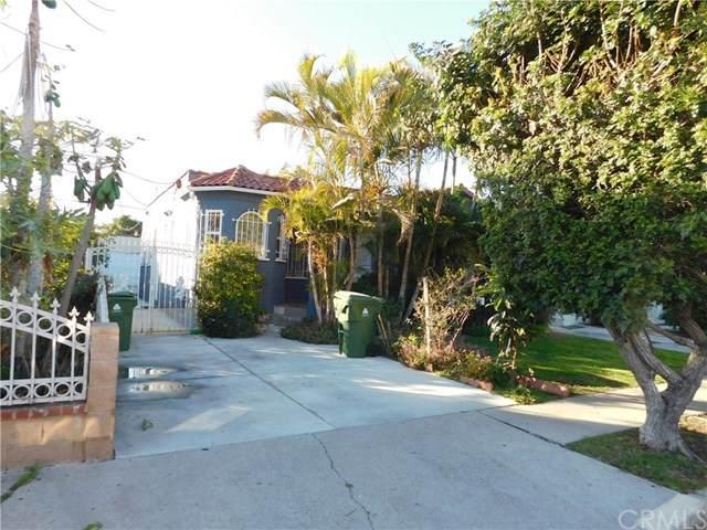 2061 S Burnside Avenue, Los Angeles (City), CA 90016 (#DW20030416) :: Keller Williams Realty, LA Harbor