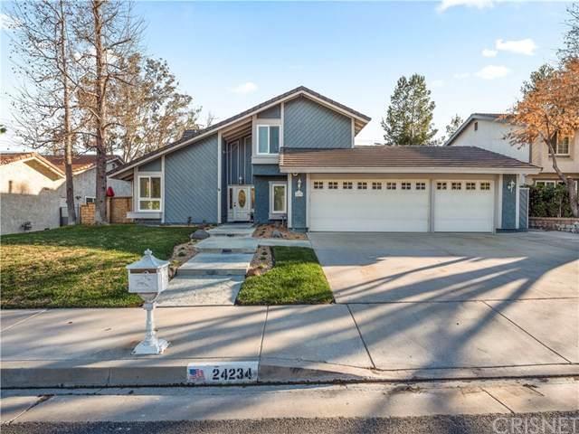 24234 Vista Ridge Drive, Valencia, CA 91355 (#SR20032153) :: Allison James Estates and Homes
