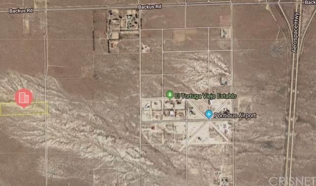 0 30th Street W, Mojave, CA 93501 (#SR20032682) :: The Brad Korb Real Estate Group