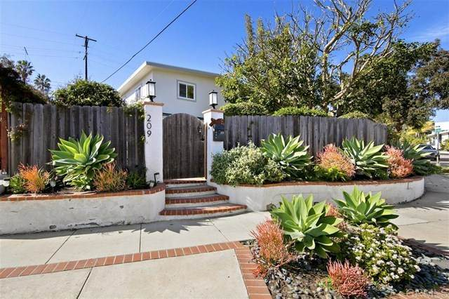 209 S El Portal, Encinitas, CA 92024 (#200007675) :: eXp Realty of California Inc.