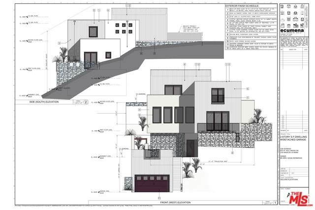 3072 Hollyridge Drive, Los Angeles (City), CA 90068 (#20554138) :: Allison James Estates and Homes