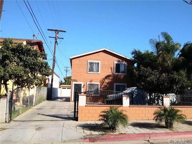10318 S Normandie Avenue, Los Angeles (City), CA 90044 (#DW20036375) :: RE/MAX Masters