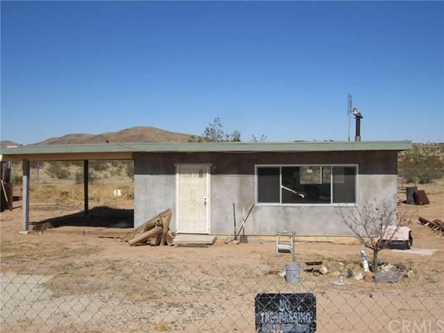 60990 Mason Drive, Joshua Tree, CA 92252 (#JT20034917) :: Allison James Estates and Homes