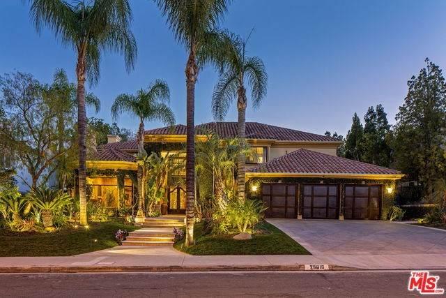 25616 Queenscliff Court, Calabasas, CA 91302 (#20554388) :: Doherty Real Estate Group