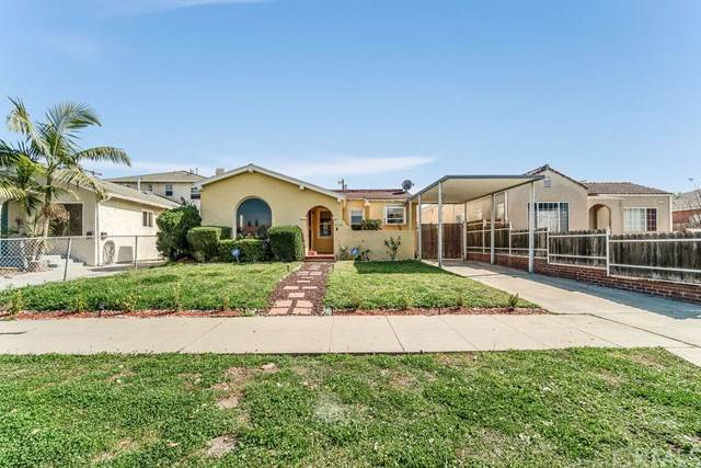 2136 S Cloverdale Avenue, Los Angeles (City), CA 90016 (#IV20035615) :: RE/MAX Masters